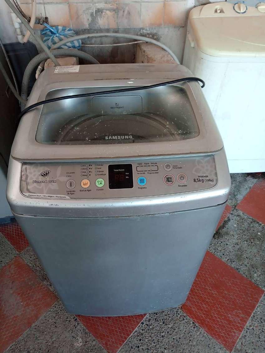 Lavadora automática Samsung