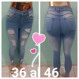 Jeans de Dama Elastizados