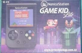 Video juego de mano