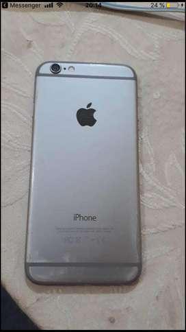 iphone 6 en excelente estado.