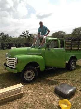 Camioneta Antigua Chevrolet pick up 1952