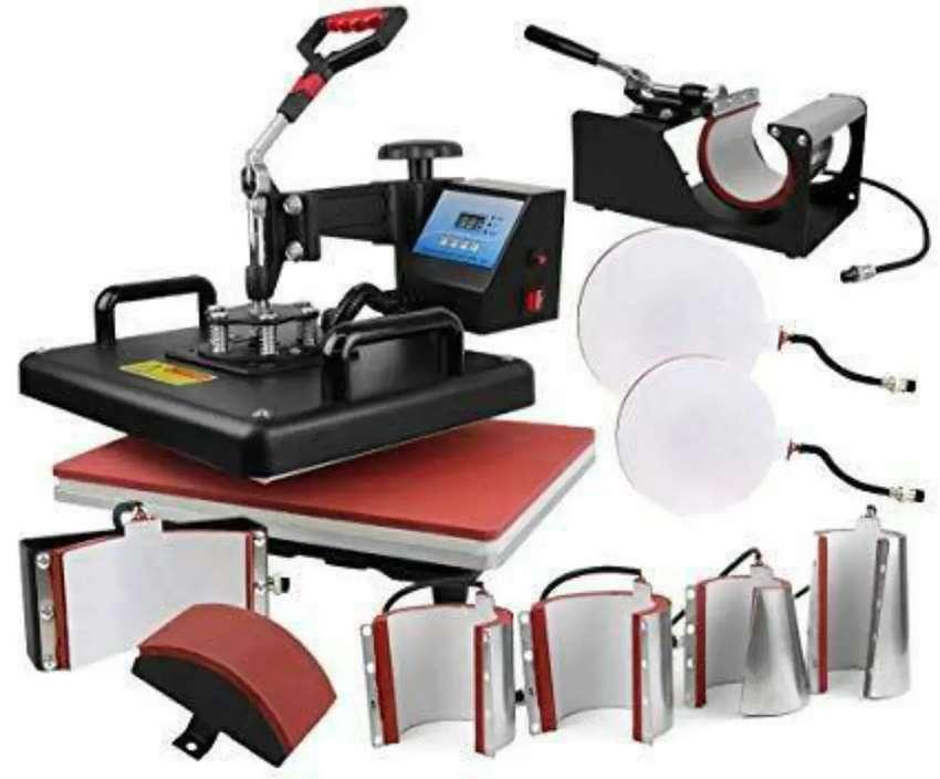 Impresora epson l3110 mas maquina de sublimacion 8 en 1