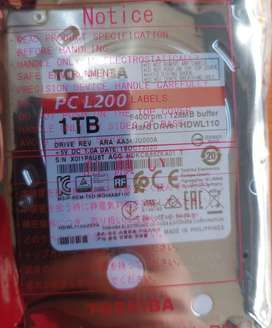 DISCO 1TB TOSHIBA INTERNO 2.5 LAPTOP