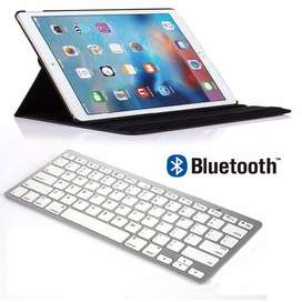 Teclado Bluetooth iPad Comparible Con Ios, Android, Windows