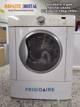 Secadora 16kg/35lbs gas Frigidaire GLGQ2152E