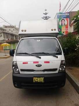 Camión K2700 kia furgón cámara seca
