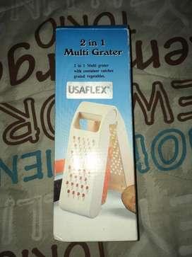 Rallador Multi 2 en 1 Usaflex