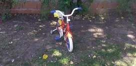 Vendo bicicleta para niños usada