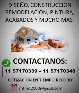 Servicios Generales de Construcción, Remodelaciones, Pintura