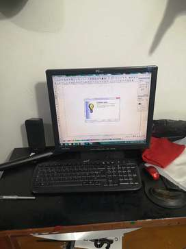 Plotter de corte redsail con pc y programas con diseños