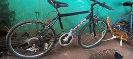 Bicicleta con cambio