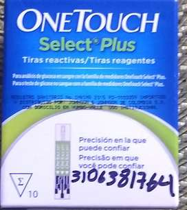 Tiras Reactivas One Touch Selec Plus