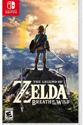 Zelda Breath of the Wild en caja perfecto estado para switch