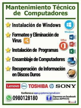 Clases de informática y programación en Guayaquil