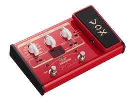 Pedalera Vox SL2B multiefectos bajo electrico expresion