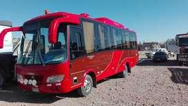 Minibus de 35 asientos ,marca voswaen modasa,año 2011