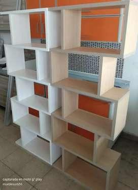 Bibliotecas cubicas de 1,80 de alto