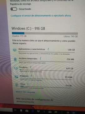 Vendo computador all in one HP.