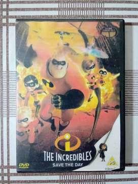 Película. DVD. Los Increíbles