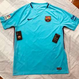 Camiseta del Barcelona Talla L, Nueva 100% Original