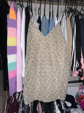 Vestido de Zara corto