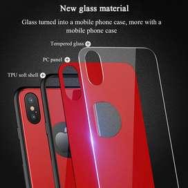 Estuche Carcasa Protector Vidrio Templado Iphone X 7 8 Plus
