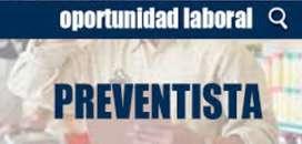 Preventista con experiencia