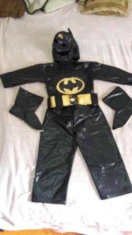 Disfraz Batman Niño 4-5 Años