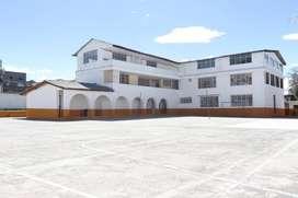 VENDO TERRENO CON  EDIFICACION PARA COLEGIO - AMAGASI DEL INCA