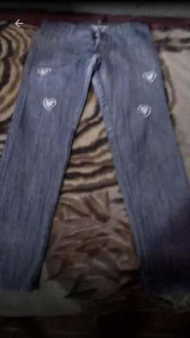 Jeans con Apliques