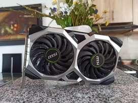 Vendo o Cambio GPU NVDIA MSI XX OC 1660TI 6GB ddr6