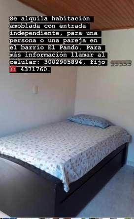 Alquiler Habitación Amoblada Santa Marta El Pando