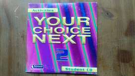 CD del libro de lectura Your Choice Next 2