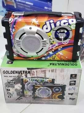 Parlante con micrófono nuevo en caja