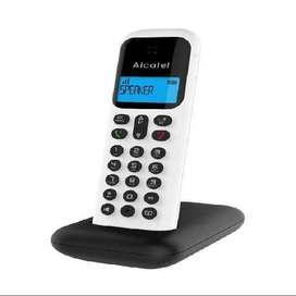 Vendo Teléfonos Inalámbricos Alcatel D295 Color Negro ø  Gris Con Altavoz