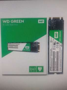 Disco solido ssd M.2 240gb wester digital green