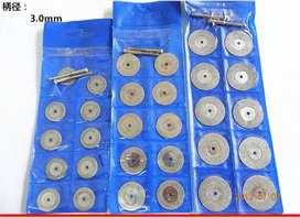 Kit De Disco Diamantado X 10 Pc De 30 Mm Original Motoortool