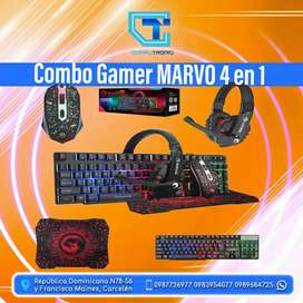 Combo Gamer MARVO 4 en 1