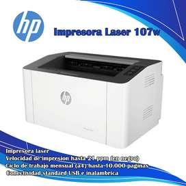 Impresora laser 107w