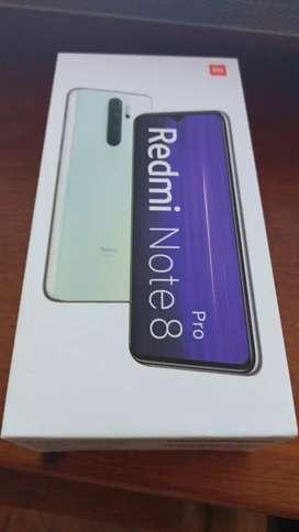 VENDO XIAOMI REDMI NOTE8 PRO DE 128 GB ROM Y 6GB RAM