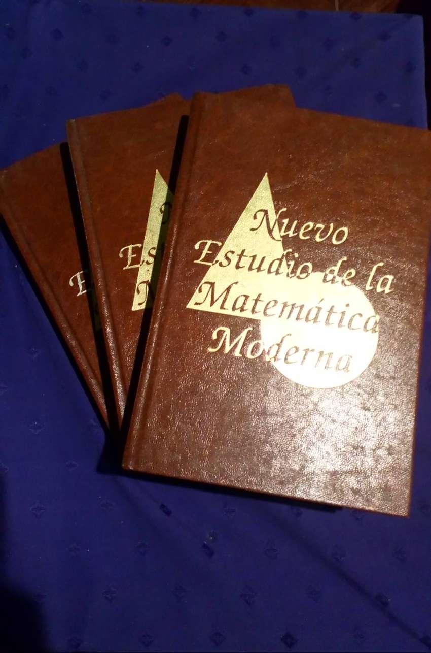 Libros Nuevo estudio de la matematica moderna 3 tomos