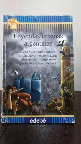 *Leyendas urbanas argentinas* Editorial Edebe - Flecos del Sol