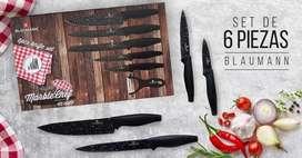 Set de Cuchillos Alemanes Blaumann