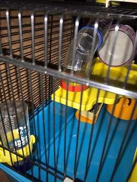 Casita de hamsters