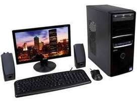 Computadora y cpu core 2 duo 2.9ghz//2gb ram//HD160gb//Multigrabador DVD//GARANTIA 1 AÑO//CEL 97187606O (((III