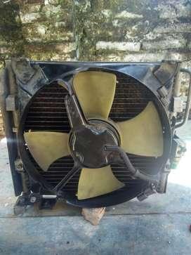 Condensador Y Electro Honda Civic