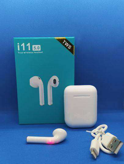 Audifonos Tipo AirPods Ios/android I11 Touch Bluetooth 5.0