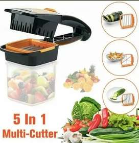 Cortador de frutas y verduras 5 en 1