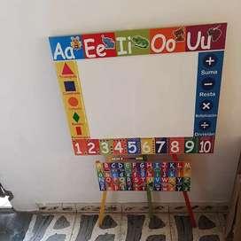 Tableros didacticos para niños