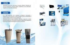 Neveras dispensador de agua